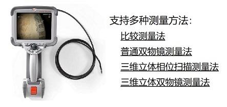 韦林工业内窥镜支持多种测量方法