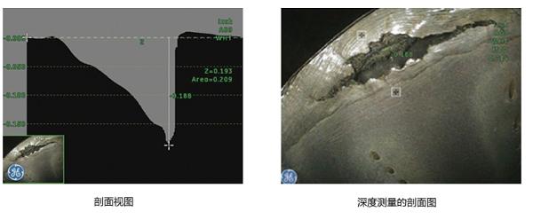 工业内窥镜采用三维相位测量法进行缺陷检测