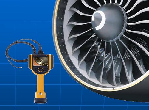 航空发动机涡轮叶片检测内窥镜