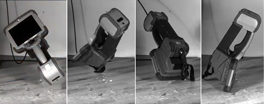 韦林工业内窥镜跌落测试场景图