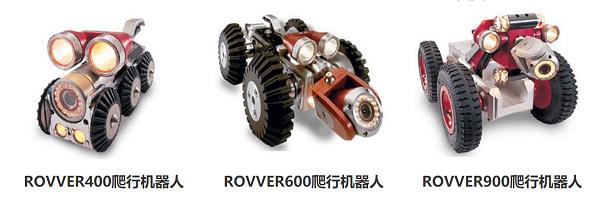 韦林工业内窥镜-管道爬行机器人系列