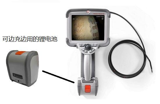 韦林手持式内窥镜MViQ的电池