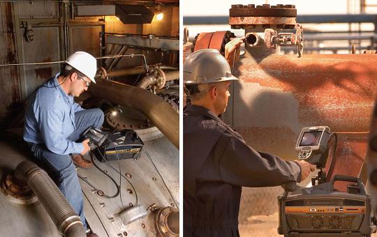 工业内窥镜检测管道腐蚀凹坑的应用案例