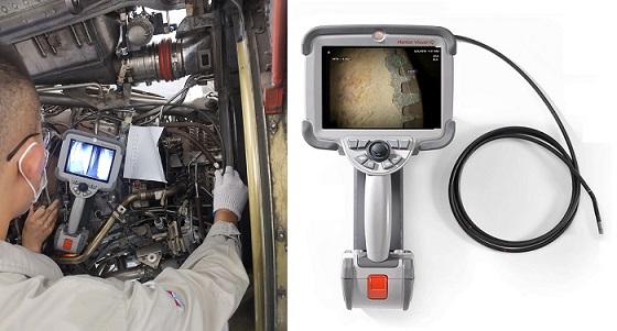 手持式高清电子内窥镜Mentor Visual iQ在孔探检测中的应用