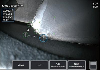 使用先进测量技术,对检出缺陷做出正确研判