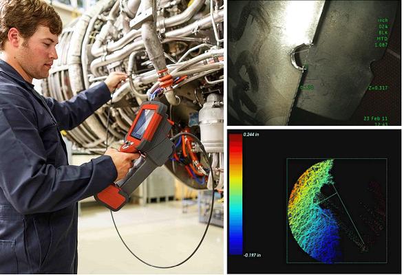 韦林相位扫描三维立体测量示意图